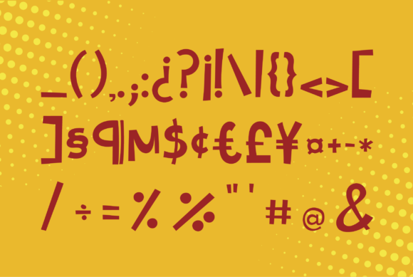 Print on Demand: Cartoonilo Script & Handwritten Font By Danilo Miguel - Image 5