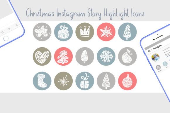 Christmas Instagram Highlight Story Icon Graphic Icons By Happy Letters - Image 2