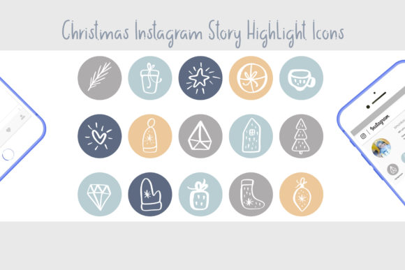 Christmas Instagram Highlight Story Icon Graphic Icons By Happy Letters - Image 3