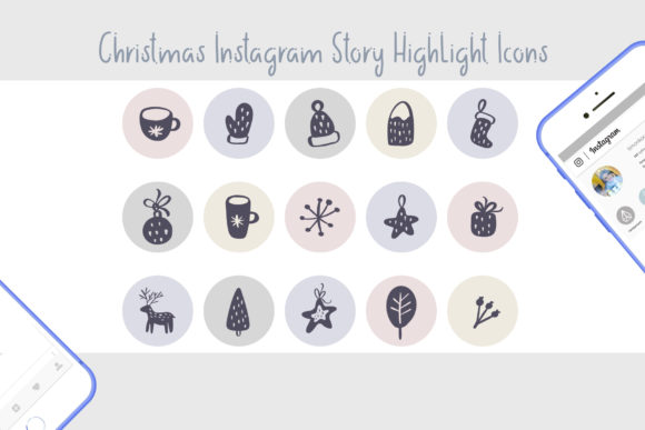 Christmas Instagram Highlight Story Icon Graphic Icons By Happy Letters - Image 4
