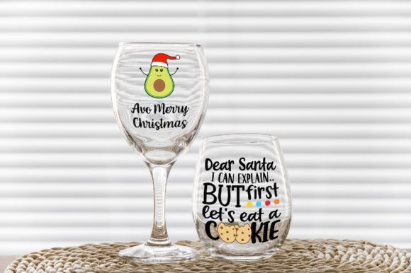 Download Free Classic Wine Glass No Stem Tumbler Graphic By Leo Flo Mockups for Cricut Explore, Silhouette and other cutting machines.