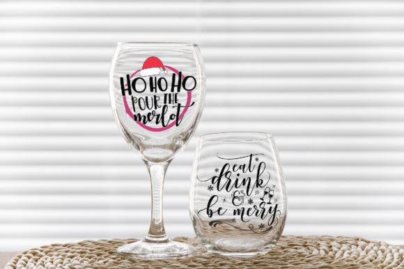 Print on Demand: Classic Wine Glass + No Stem Tumbler Graphic Product Mockups By Leo Flo Mockups - Image 5