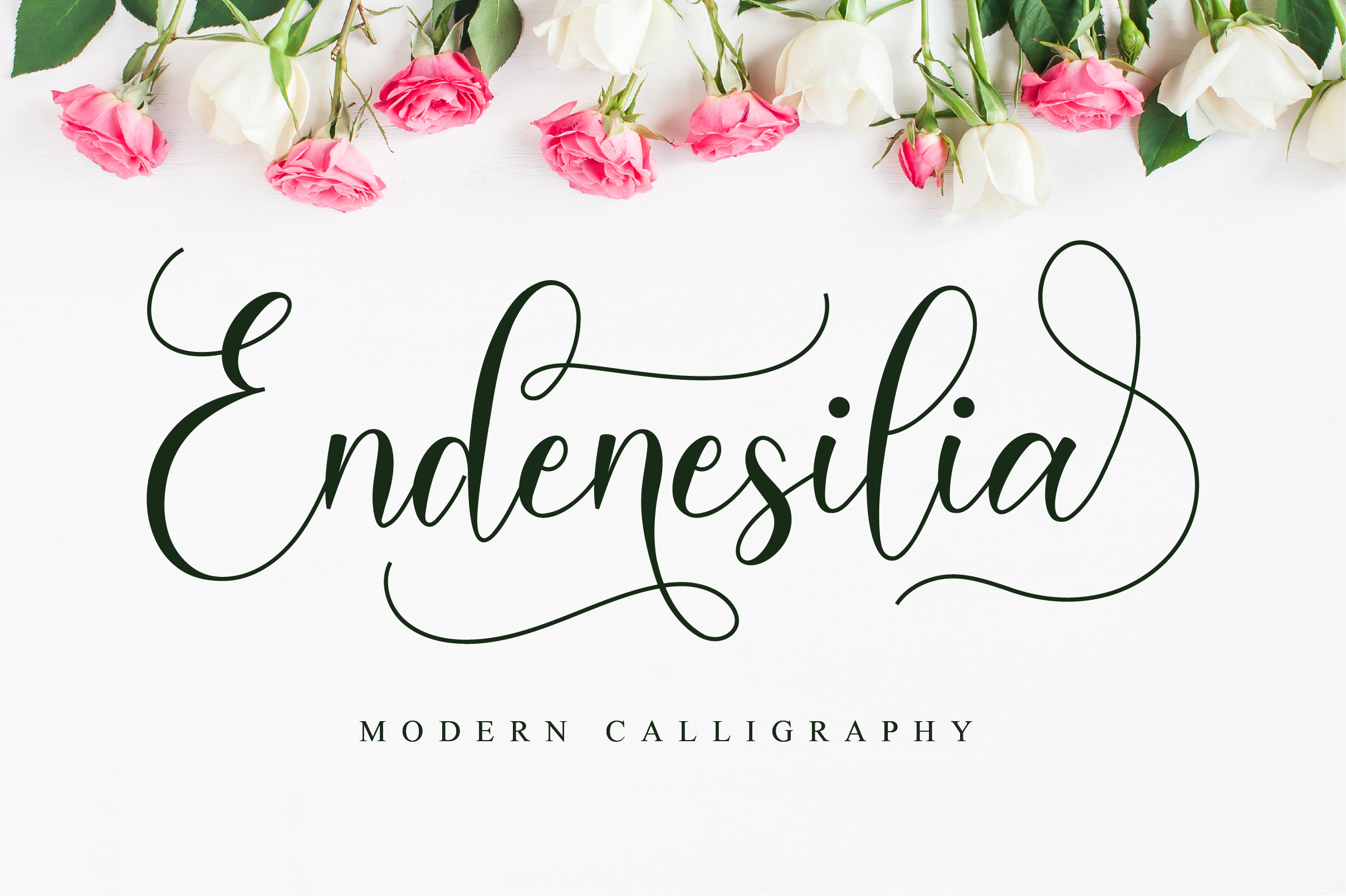 Download Free Endenesilia Font By Nissastudio Creative Fabrica for Cricut Explore, Silhouette and other cutting machines.
