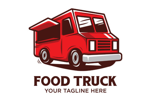 Download Free Food Truck Logo Design Graphic By Nuranitalutfiana92 Creative for Cricut Explore, Silhouette and other cutting machines.