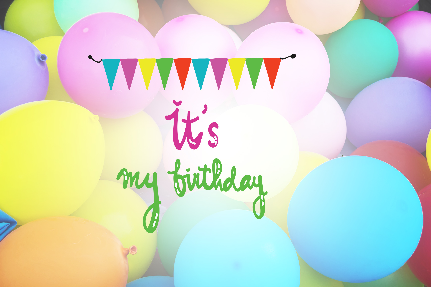 Swell Its My Birthday Quotes Graphic By Wienscollection Creative Personalised Birthday Cards Veneteletsinfo