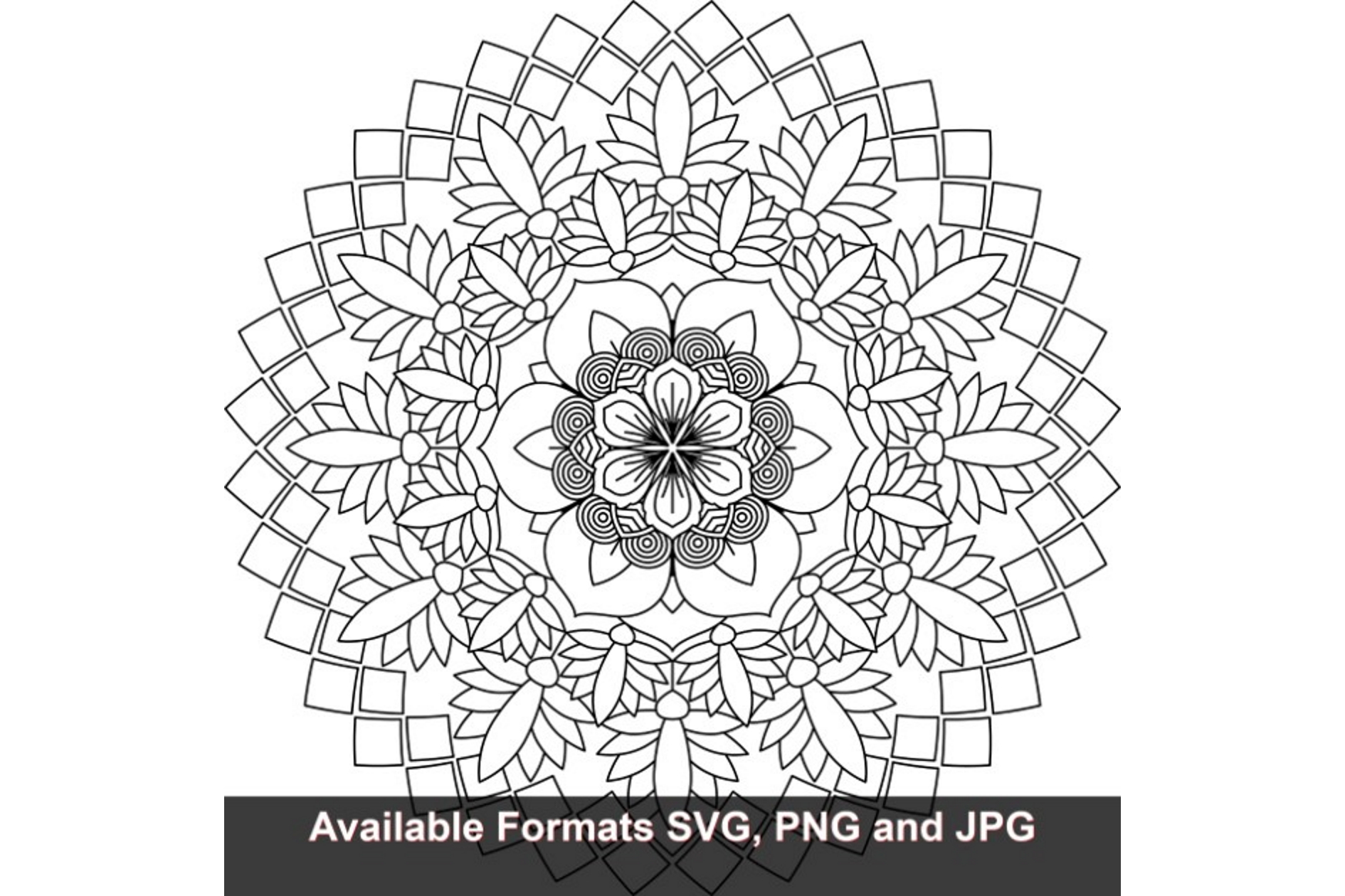 Download Free Mandala Art 676 Graphic Graphic By Iwantto Us Creative Fabrica SVG Cut Files