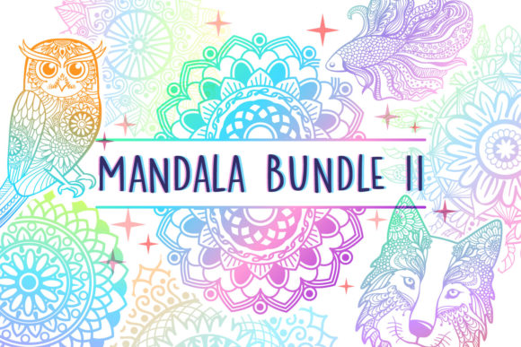 Print on Demand: Mandala Bundle II - 25 Cut Files Graphic Crafts By tatiana.cociorva
