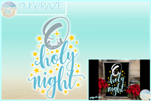 Download Free O Holy Night Christmas Graphic By Harbor Grace Designs for Cricut Explore, Silhouette and other cutting machines.