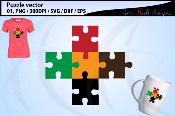 Download Free Puzzle Clipart Svg Graphic By Arcs Multidesigns Creative Fabrica for Cricut Explore, Silhouette and other cutting machines.