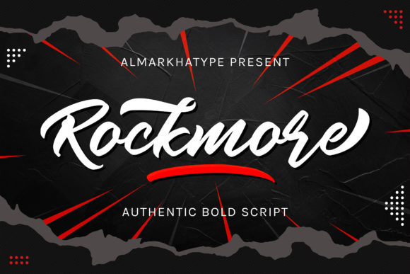 Print on Demand: Rockmore Manuscrita Fuente Por almarkhatype