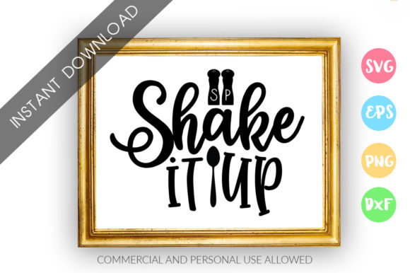 Print on Demand: Shake It Up Design Graphic Crafts By DesignFarm - Image 1