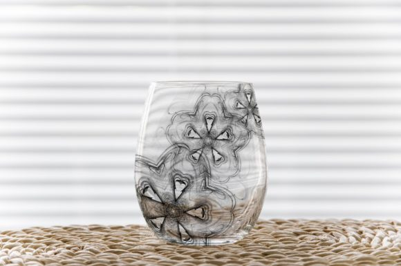 Print on Demand: Stemless Wine Glass Tumbler Mockup Graphic Product Mockups By Leo Flo Mockups - Image 6