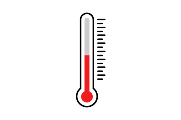 Thermometer Icon Vector Graphic Icons By verry studio