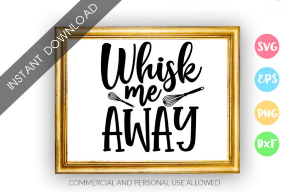 Print on Demand: Whisk Me Away Design Graphic Crafts By DesignFarm
