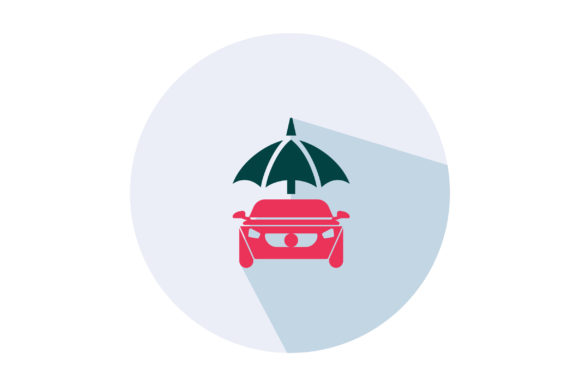 Download Free Car Insurance Flat Icon Vector Graphic By Riduwan Molla for Cricut Explore, Silhouette and other cutting machines.
