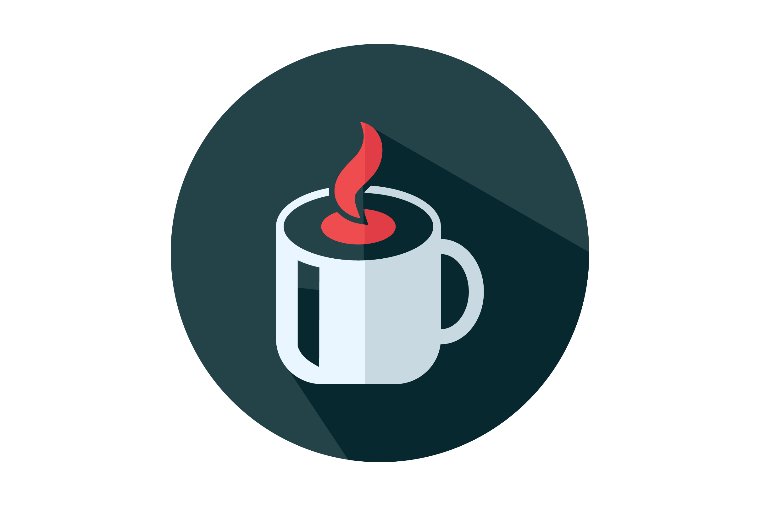 Download Free Cup Of Coffee Flat Icon Vector Graphic By Riduwan Molla for Cricut Explore, Silhouette and other cutting machines.