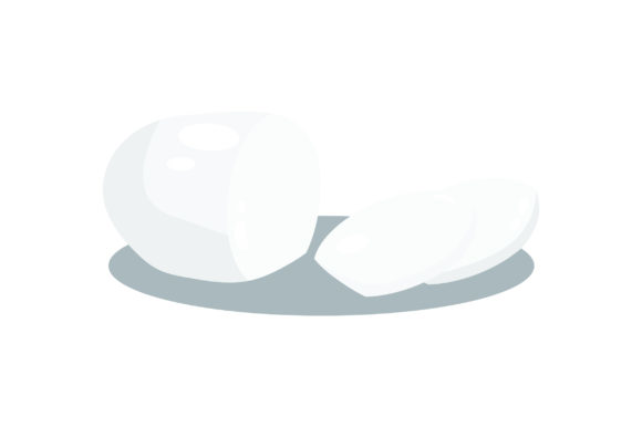 Download Free Mozzarella Cheese Svg Cut File By Creative Fabrica Crafts for Cricut Explore, Silhouette and other cutting machines.