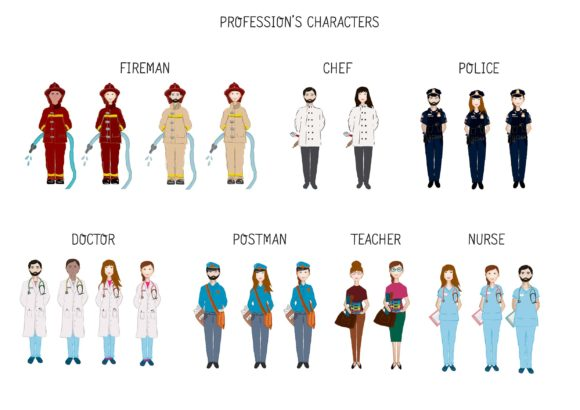 Big Bundle Clipart Characters Graphic Illustrations By CuteLittleClipart - Image 17