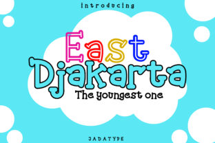 Print on Demand: East Djakarta Display Font By jadatype