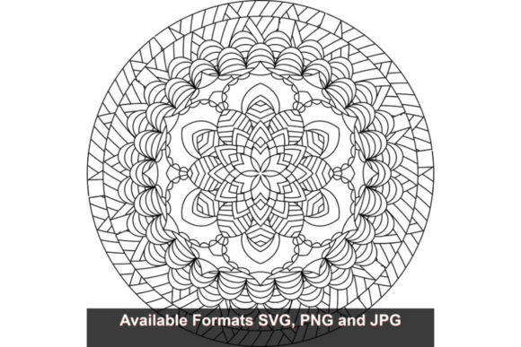 Download Free Mandala Art 697 Graphic Graphic By Iwantto Us Creative Fabrica for Cricut Explore, Silhouette and other cutting machines.