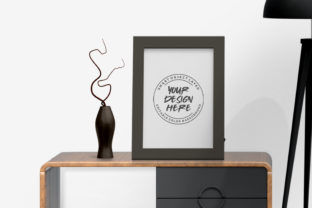 Download Free Photo Frame On Table Mockup Template Graphic By Suedanstock for Cricut Explore, Silhouette and other cutting machines.