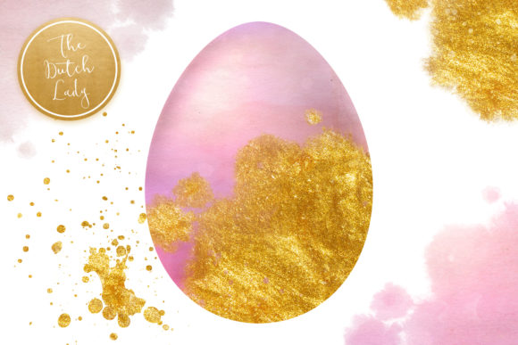 Download Free Sparkly Easter Eggs Clipart Set Graphic By Daphnepopuliers for Cricut Explore, Silhouette and other cutting machines.