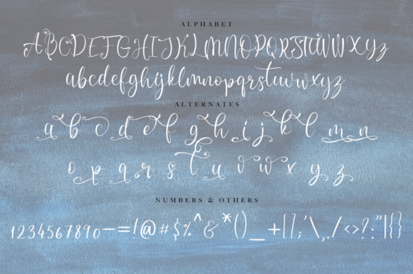 Print on Demand: Twinkling Script & Handwritten Font By besttypeco - Image 2