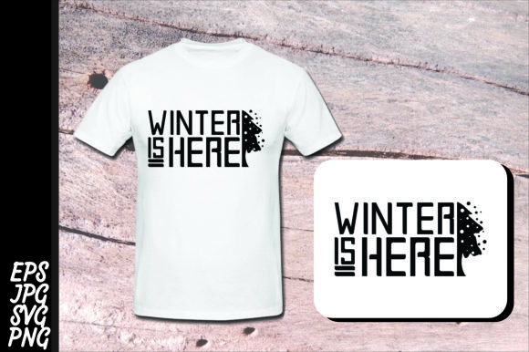 Download Free Winter Winter Is Here Svg Graphic By Arief Sapta Adjie for Cricut Explore, Silhouette and other cutting machines.