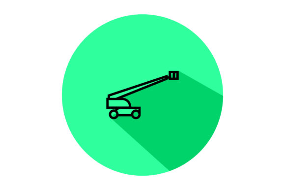Download Free Construction Truck Liner Fill Icon Graphic By Riduwan Molla for Cricut Explore, Silhouette and other cutting machines.