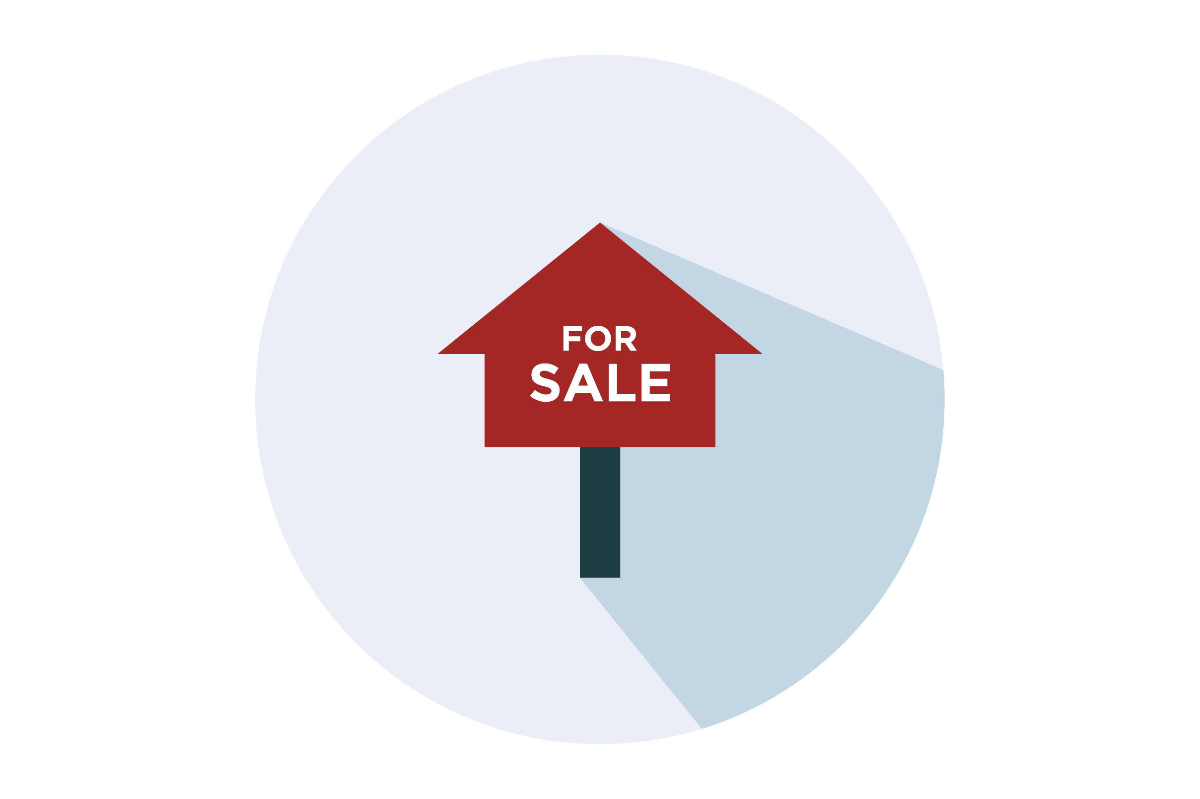 House For Sale Flat Vector Icon Graphic By Riduwan Molla