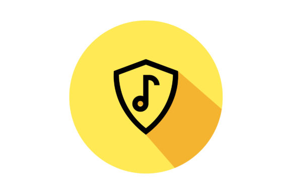 Download Free Song Security Liner Fill Icon Vector Graphic By Riduwan Molla for Cricut Explore, Silhouette and other cutting machines.