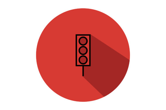 Download Free Traffic Light Liner Fill Icon Vector Graphic By Riduwan Molla for Cricut Explore, Silhouette and other cutting machines.