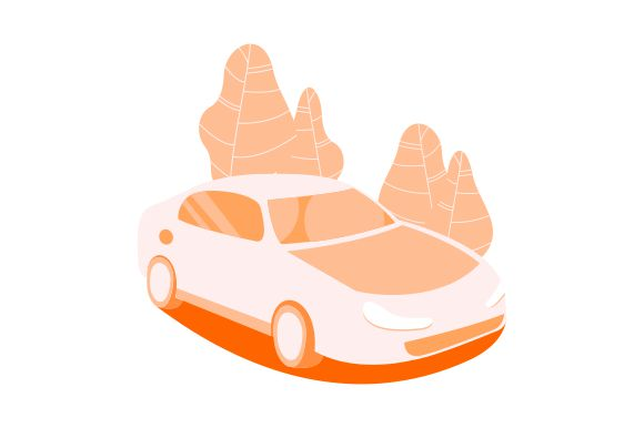 Download Free Car Vector Illustration Graphic By Therintproject Creative Fabrica SVG Cut Files