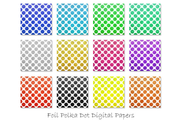 Foil Polka Dot Patterns Graphic Patterns By GJSArt - Image 2