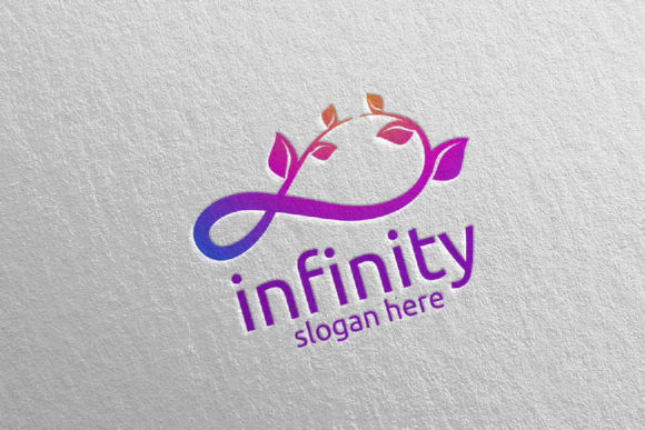 Download Free Green Infinity Loop Logo Design 33 Graphic By Denayunecf for Cricut Explore, Silhouette and other cutting machines.