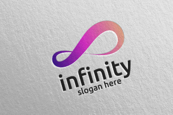 Download Free Infinity Loop Logo Design 28 Graphic By Denayunecf Creative for Cricut Explore, Silhouette and other cutting machines.