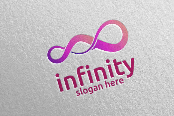 Download Free Infinity Loop Logo Design 34 Graphic By Denayunecf Creative for Cricut Explore, Silhouette and other cutting machines.