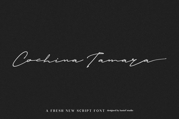 Print on Demand: Janetta Silloam Script & Handwritten Font By Hanzel Studio - Image 5