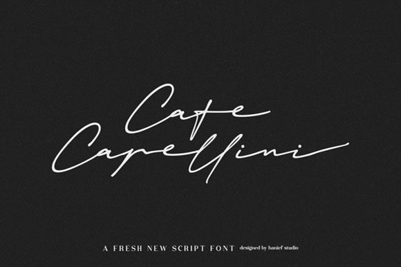 Print on Demand: Janetta Silloam Script & Handwritten Font By Hanzel Studio - Image 7