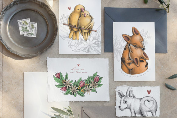 Print on Demand: Lovely Animals Graphic Illustrations By Architekt_AT - Image 2