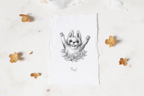 Print on Demand: Lovely Animals Graphic Illustrations By Architekt_AT - Image 7