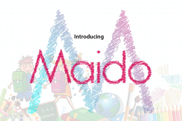 Print on Demand: Maido Display Font By da_only_aan