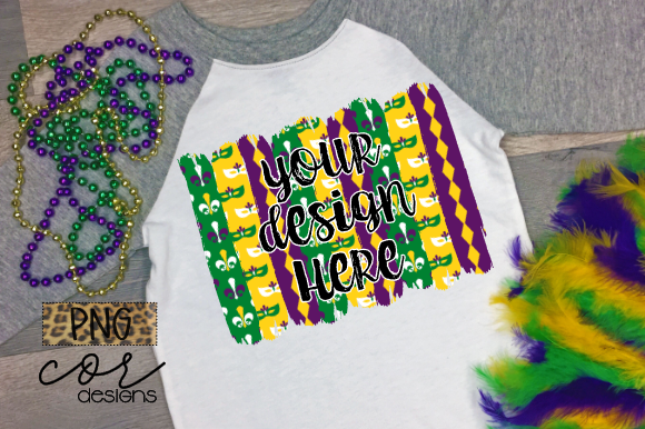 Download Free Mardi Gras Design Element Graphic By Designscor Creative Fabrica for Cricut Explore, Silhouette and other cutting machines.