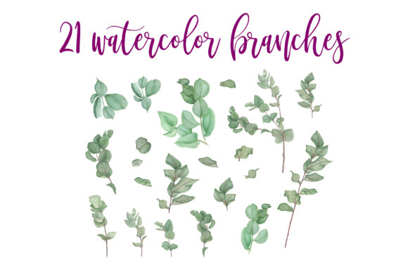 Print on Demand: Purple Bouquet Watercolor Clipart Graphic Illustrations By tpushnaya - Image 2