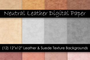 Suede Leather Digital Paper Graphic Textures By GJSArt