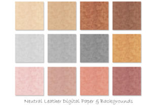 Suede Leather Digital Paper Graphic Textures By GJSArt 2
