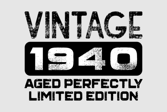 Download Free Vintage 1940 2000 T Shirt Bundle Graphic By Colorsplash for Cricut Explore, Silhouette and other cutting machines.