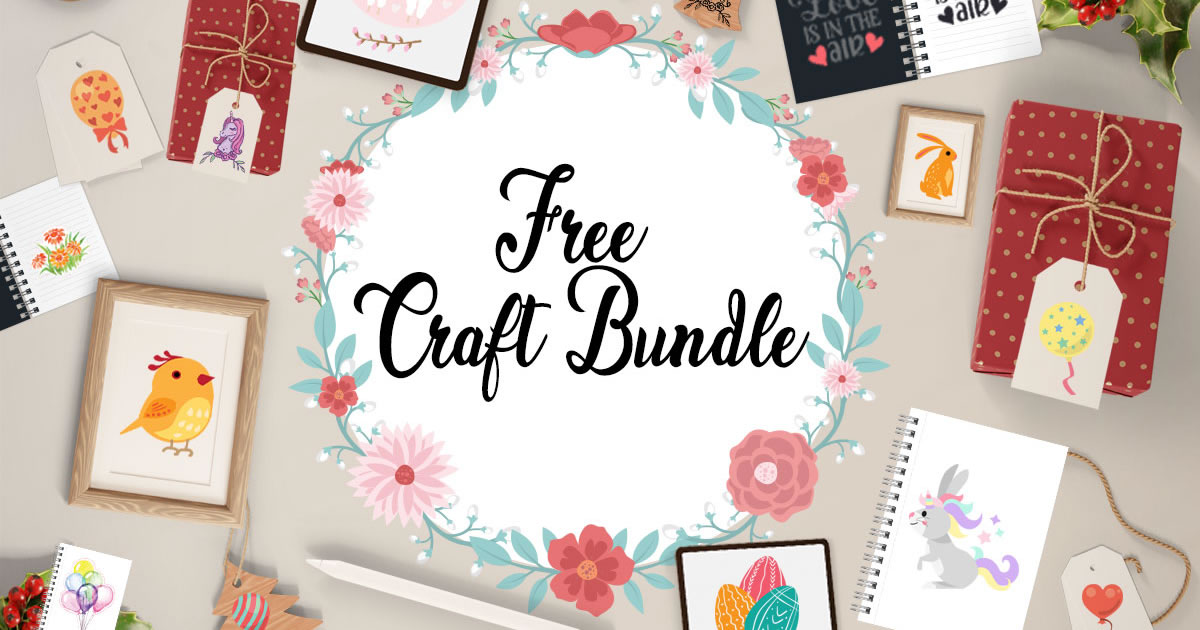 Download Free Free Craft Bundle Bundle Creative Fabrica for Cricut Explore, Silhouette and other cutting machines.