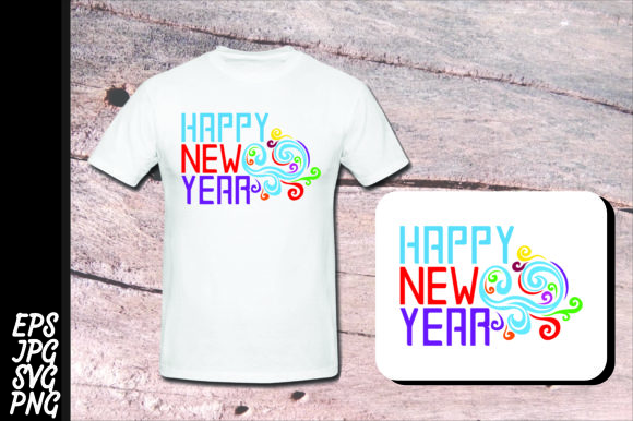 Download Free Printing Happy New Year Svg Bundle Graphic By Arief Sapta for Cricut Explore, Silhouette and other cutting machines.