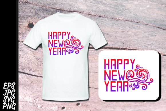 Print on Demand: Printing - Happy New Year SVG Bundle Graphic Crafts By Arief Sapta Adjie